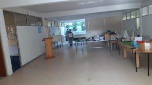 cleaning sanitizing kids school room tiles disinfecting